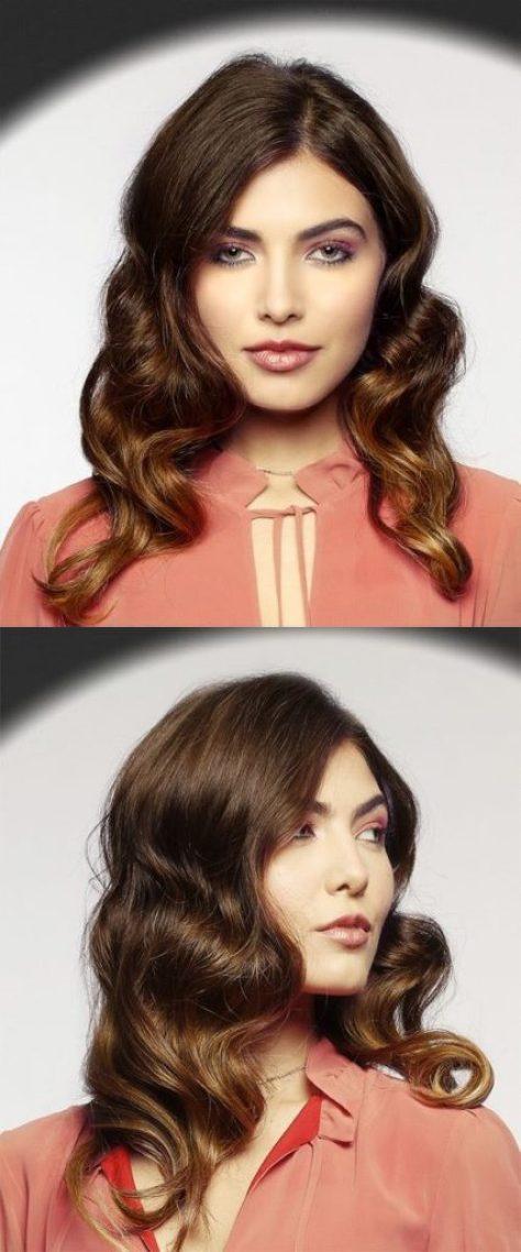 Medium Wavy Casual Hairstyle