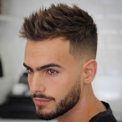 Spiked Hair with Undercut