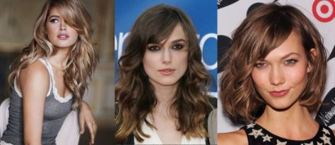 Long Bangs With Flippy Waves