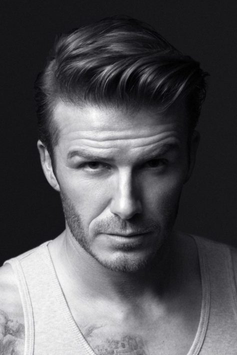 Beckham Comb Over Hairstyle
