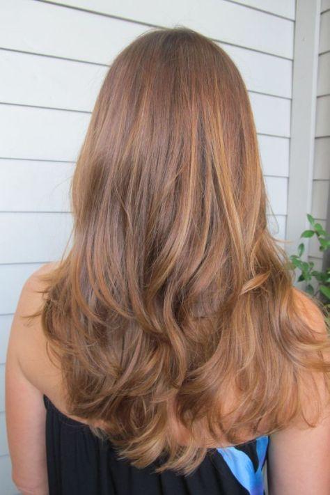 Caramel Honey Blonde Hair