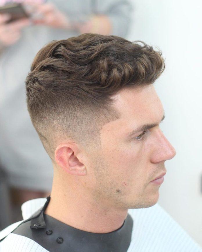 Short Wavy Undercut Hair