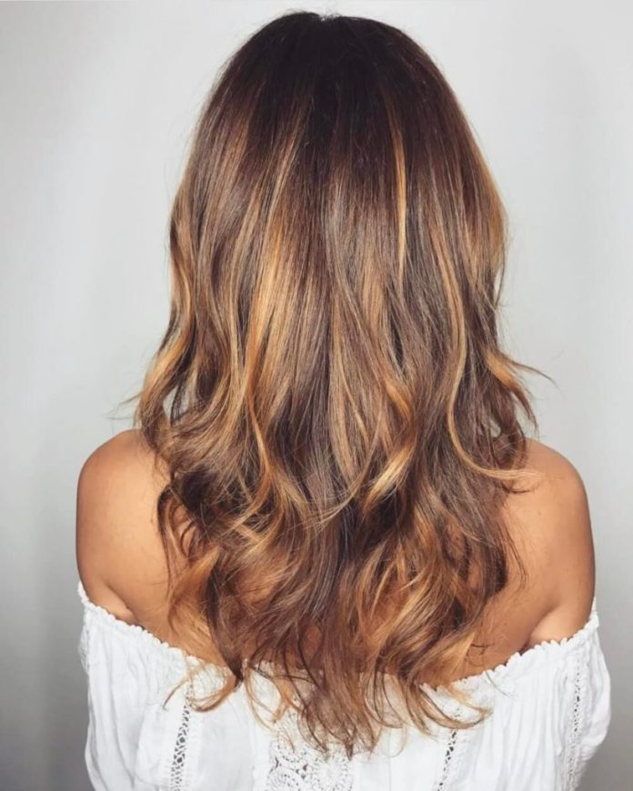 Sunkissed Light Brown Hair with Waves
