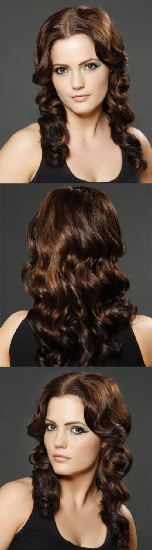 Chocolate Blonde Long Wavy Hair