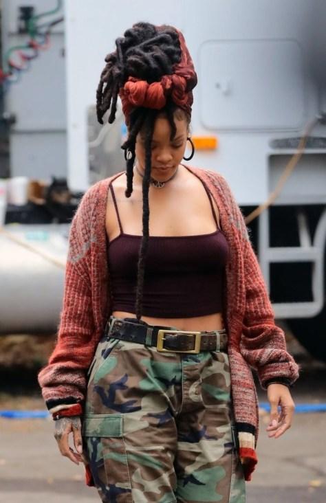 Rihanna's Dreadlocks Hairstyle