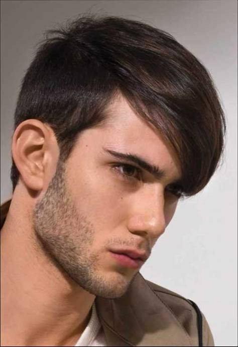 Hairstyle with Side Bangs