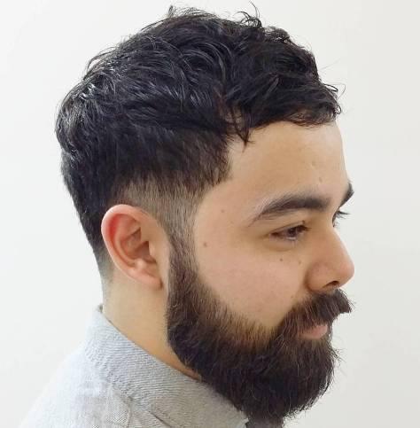 Temple Undercut for Curly Hair
