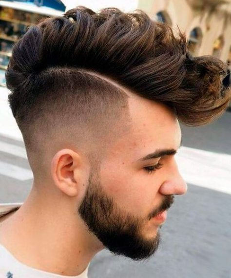 Disconnected Fade Haircut
