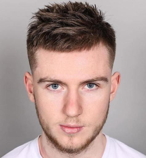 Short Spiky Haircut for Guys