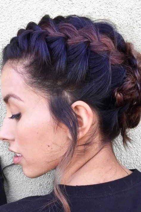 17 Braided Hairstyles for Short Hair - Look More Beautiful With ...