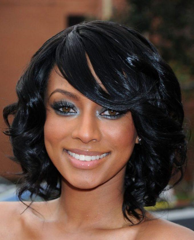 Medium Length Bob Hairstyles For Fine Black Hair Hairsjdi