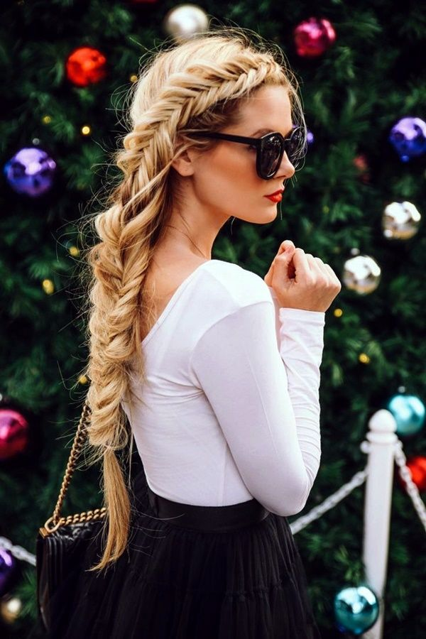 Voluminous Fishtail Braid