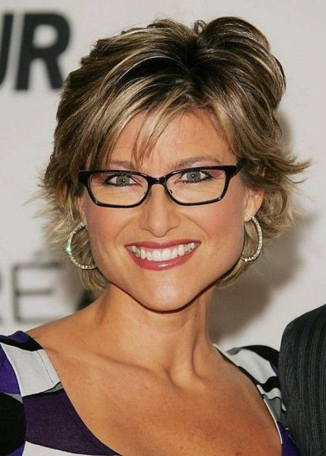 Hairstyles For Women Over 50 With Glasses