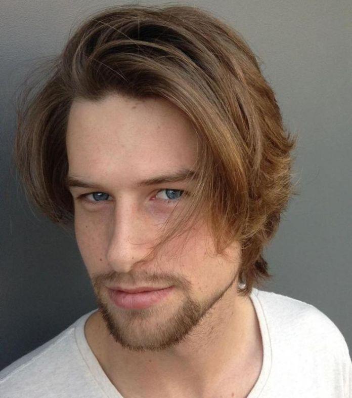 Medium Layered Haircut for Men