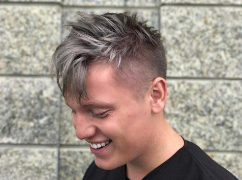 Messy Haircut for Men