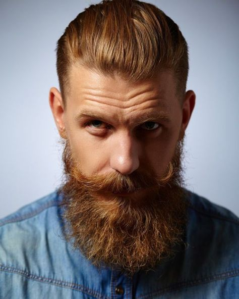 Swept Back Tapered Undercut Hairstyle