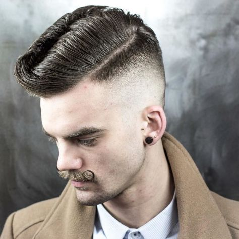 Skin Fade Rockabilly Wave Hair