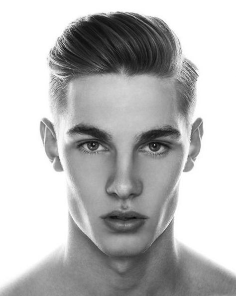 Old School Hairstyle for Guys