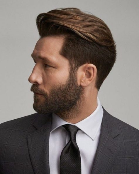 Golden Brown Formal Hairstyle