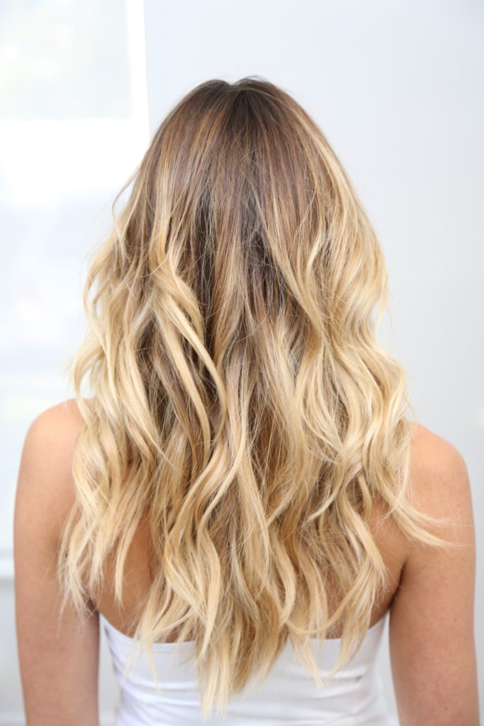 Sun Kissed Blonde Highlights