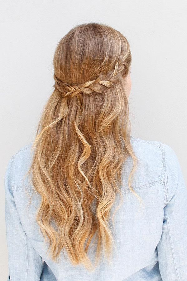 Homecoming Long Hairstyle