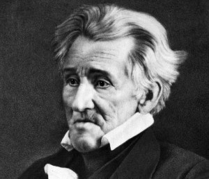 President Andrew Jackson at the age of 78