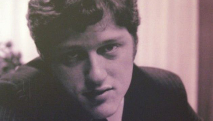 Young Bill Clinton