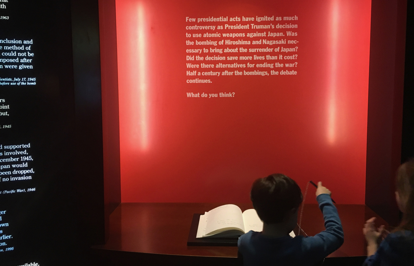 The Harry S. Truman museum tackles controversial topics