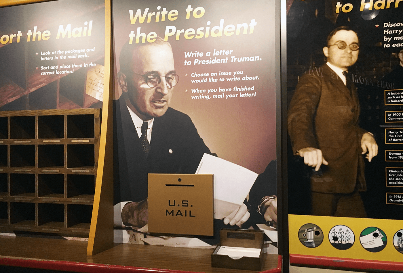 Write a letter to Harry S. Truman. Why not!