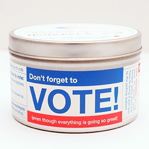 Don't Forget to Vote Candle