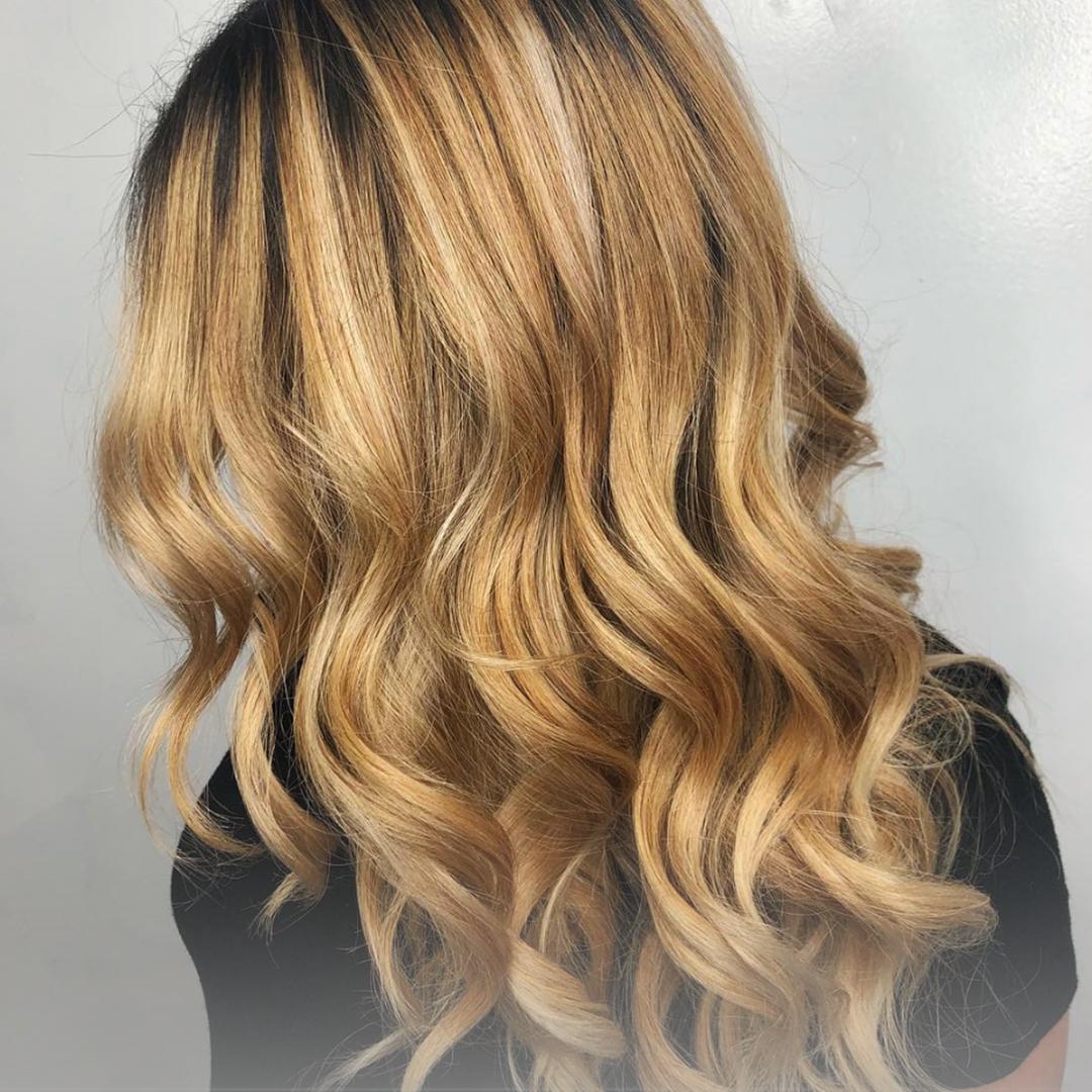 Clipo Hair Extensions Las Vegas Model