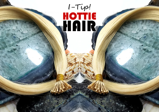 I-Tip Hair Extensions at Hottie Hair Store Las Vegas Made With Real Russian Hair