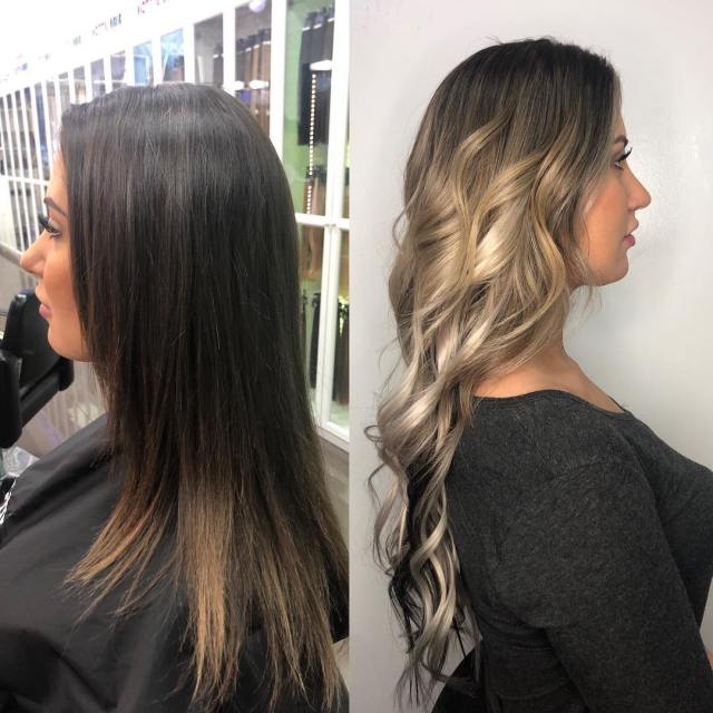 balayage highlights las vegas
