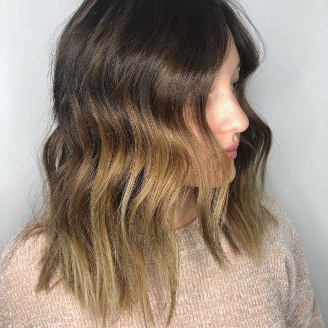 ombre balayage las vegas short hair