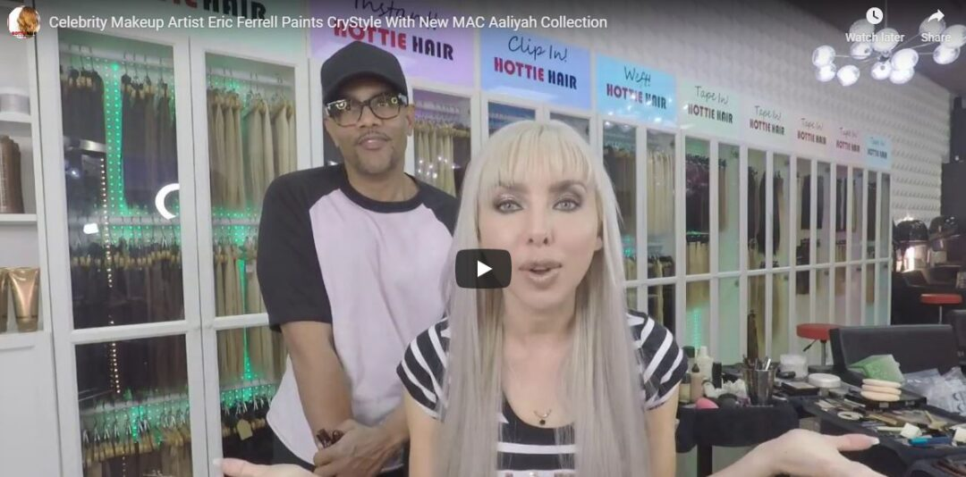 Celebrity Makeup Artist Eric Farrell Paints CryStyle With New MAC Aaliyah Collection