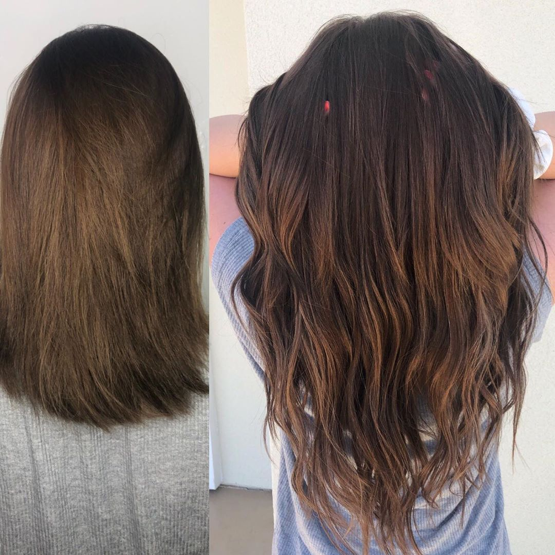 Tape In Hair Extensions Las Vegas Before After 05