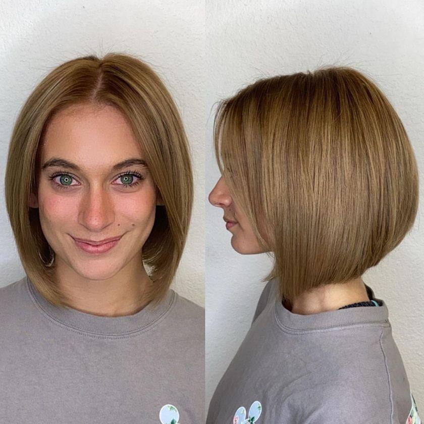vintage bob haircut on women