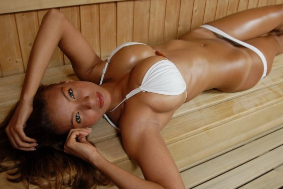 sweat big boobs