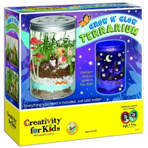 Creativity for Kids Grow n Glow Terrarium