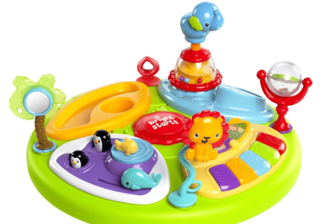 around we go 3 in 1 activity center zippity zoo review