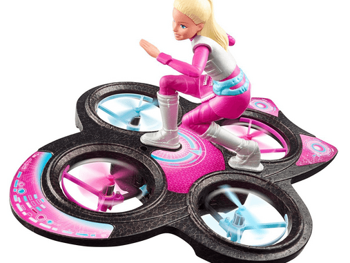 barbie rc hoverboard review