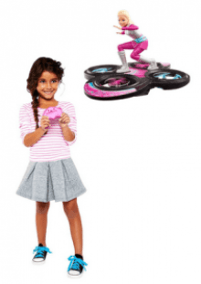 barbie star light adventure flying rc hoverboard review