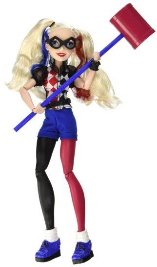 dc super hero girls harley quinn doll