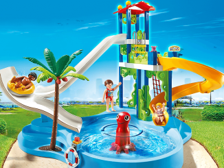 playwater park with slides playset review