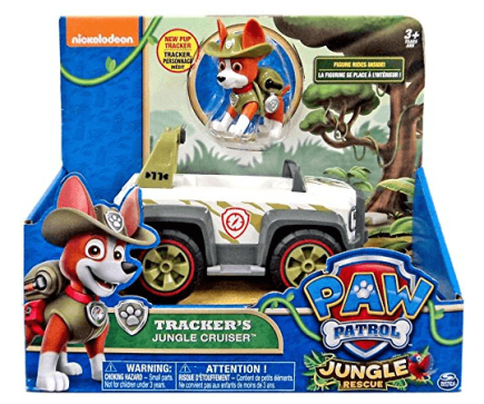 paw patrol trackers cruiser jungle rescue vehicle and pup review