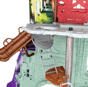teenage mutant ninja turtles lair playset