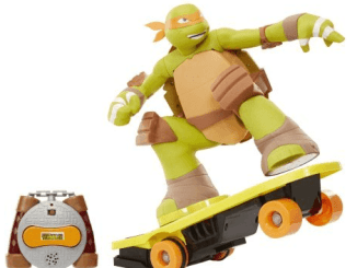 teenage mutant ninja turtles remote control skateboarding mikey review