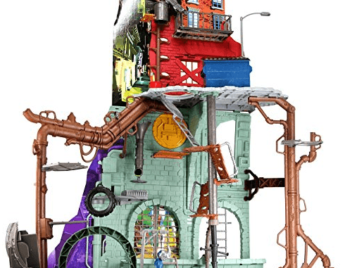teenage mutant ninja turtles secret sewer lair playset review