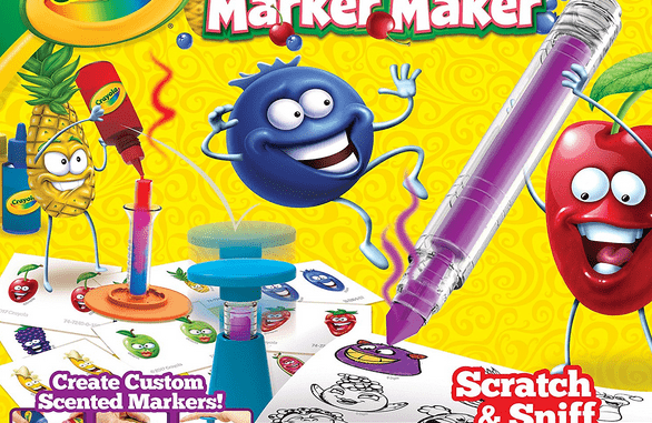Crayola Silly Scents Marker Maker Review