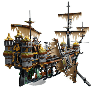Pirates of the Caribbean Dead Men Tell No Tales LEGO Pirate Ship review